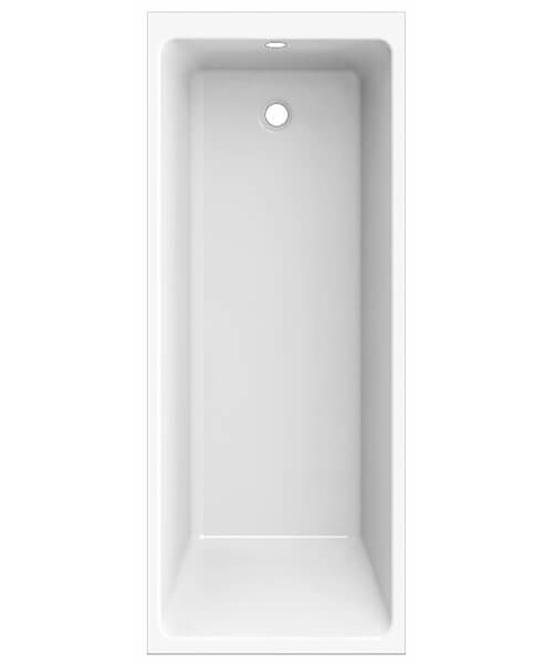 Frontline Chic2 1700 x 700mm Square Straight Single Ended Plain Bath