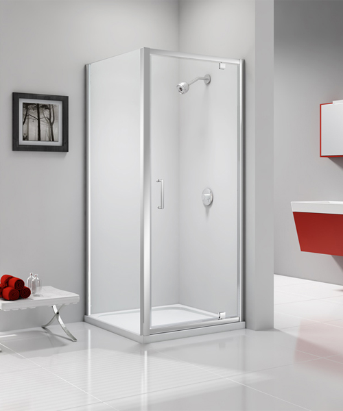 Additional image of Merlyn Ionic Express 1900mm Height 6mm Glass Pivot Shower Door