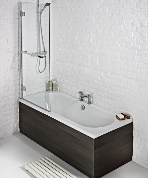 Frontline Duo 1700 x 700mm Round Double Ended Straight Bath