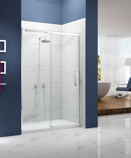 Merlyn Ionic Essence 8mm Glass 2000mm High Sliding Shower Door