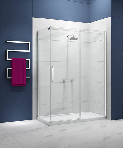Additional image of Merlyn Ionic Essence 8mm Glass 2000mm High Sliding Shower Door