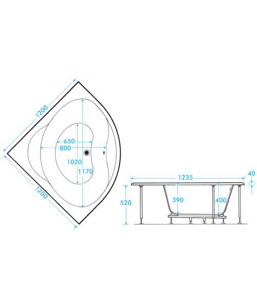 Technical drawing 59309 / TRLGW12
