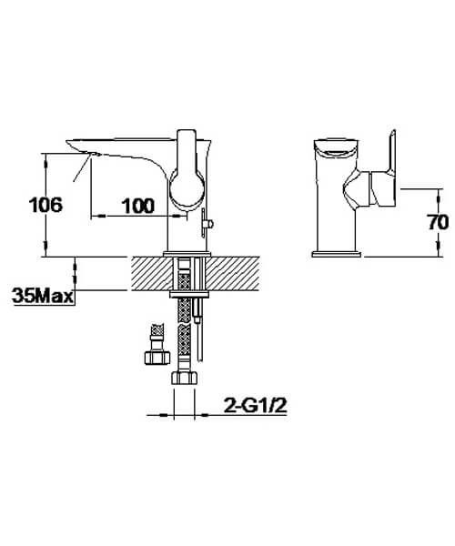 Technical drawing 58211 / S821-0100-01
