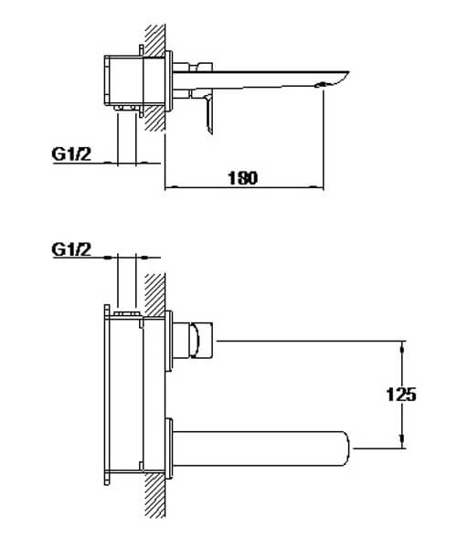 Technical drawing 58212 / S821-1700-01