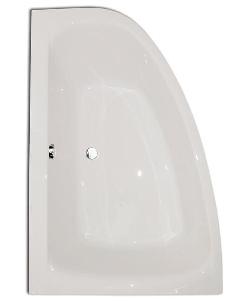 Frontline Cloud 1500 x 1000mm Offset Left Hand Corner Bath