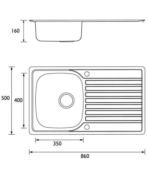 Technical drawing 55334 / SK INXRD1 SU