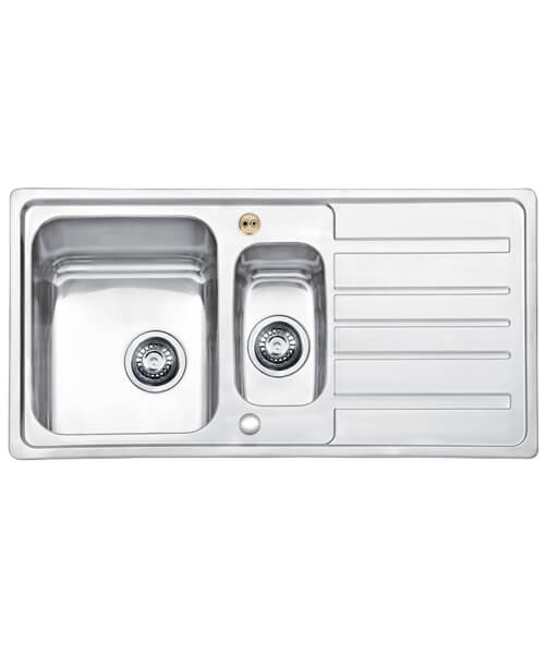 Bristan Index 1.5 Easyfit Kitchen Sink - SK INXSQ1.5 SU