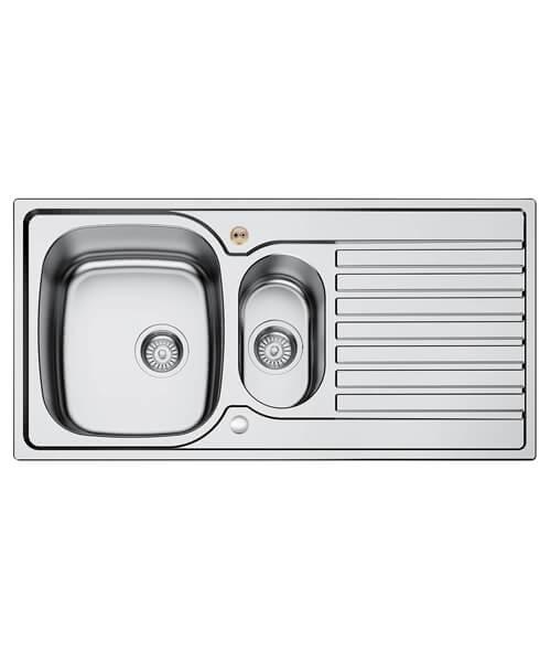 Bristan Inox 1.5 Easyfit Kitchen Sink - SK INXRD1.5 SU