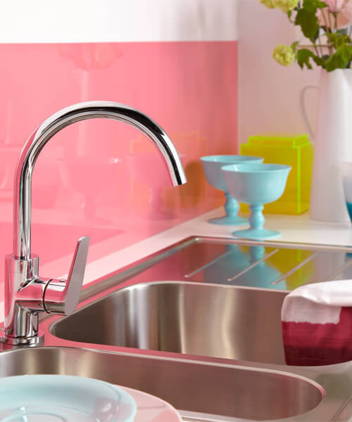 Additional image of Bristan Inox Easyfit 1.0 Kitchen Sink With Raspberry Tap
