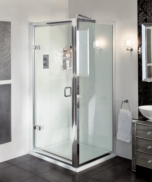 Aqata Exclusive ES205 Hinged Door Corner Enclosure 760 x 760mm