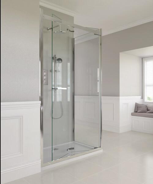 Aqata Spectra SP481 Bi-Fold Door Corner Enclosure 800 x 800mm