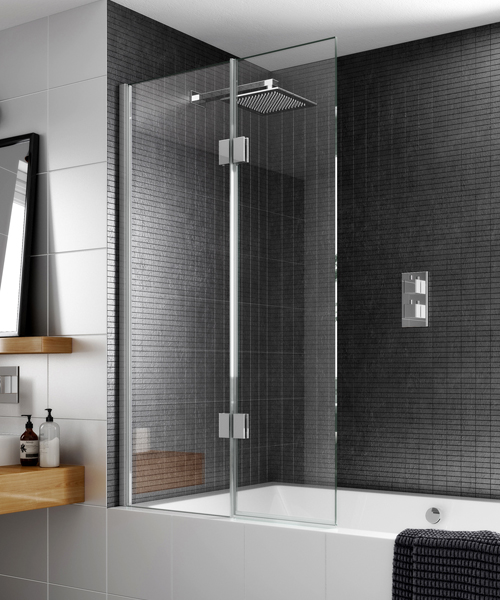 Aqata Design Inward Or Outward Opening Bath Screen 900 x 1500mm