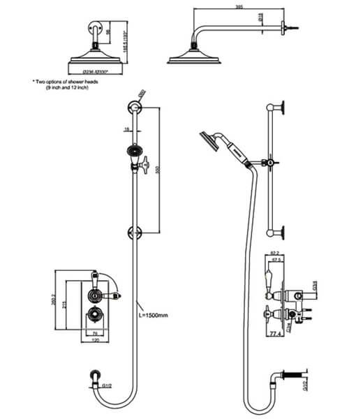 Technical drawing 55375 / ARC64 CHR