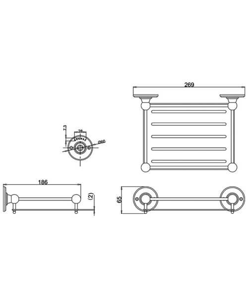 Technical drawing 55369 / ARCA15 CHR