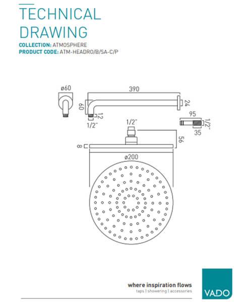 Technical drawing 19693 / ATM-HEADRO/B/SA-C/P