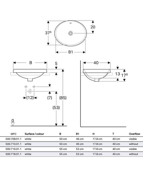 Technical drawing 60504 / 500.708.01.2