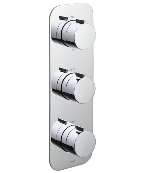 Alternate image of Vado Tablet Altitude 3 Handle Thermostatic Shower Valve
