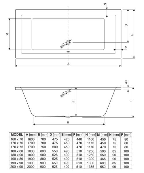Technical drawing 33645 / 154PLANE1670
