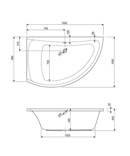 Technical drawing 37003 / 200COMETLHAQMXCWS06