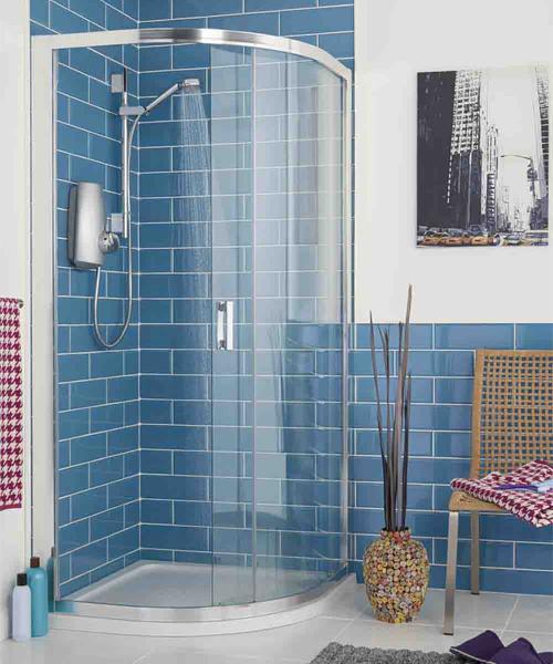 Aqualisa Aquastream Power Shower With Adjustable Shower Head