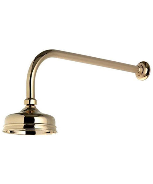 Alternate image of Aqualisa Aquatique 5 Inch Drencher Fixed Head And Wall Arm