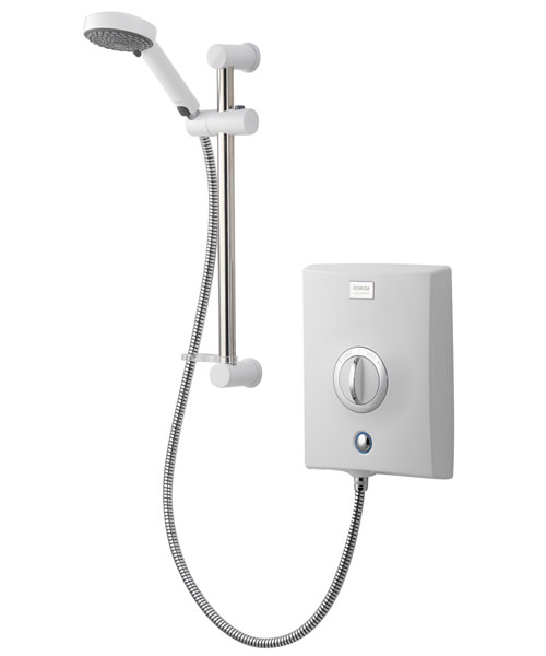 Aqualisa Quartz 8.5kW Electric Shower With Adjustable Head