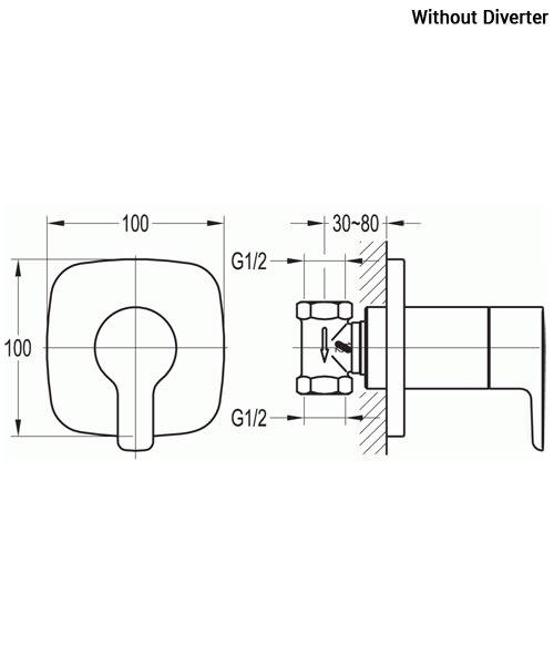 Technical drawing 36078 / URSV