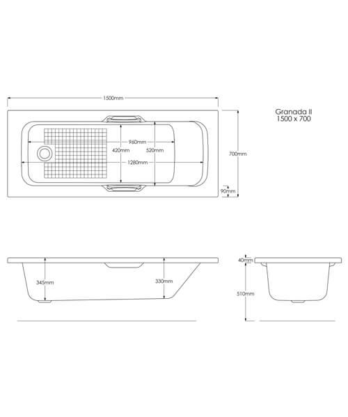 Technical drawing 8727 / B2171
