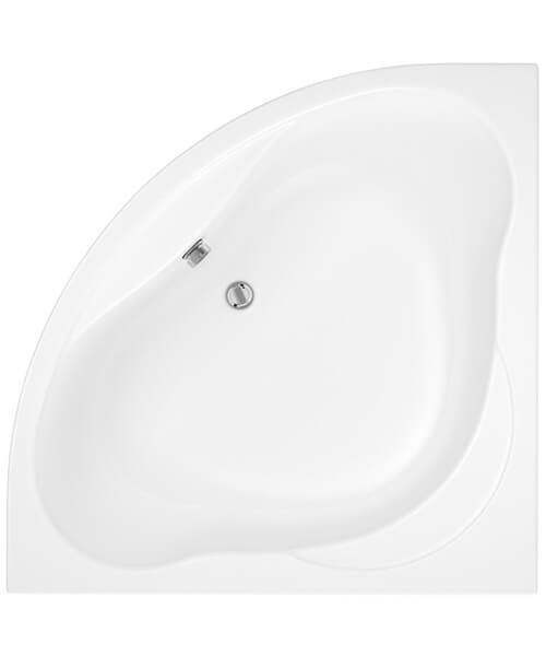 Trojan Laguna White Corner Bath With Panel