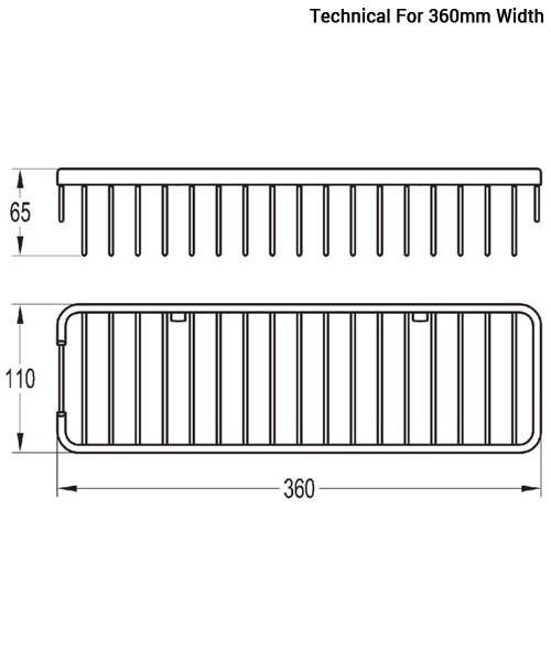 Technical drawing 40016 / RA8963A