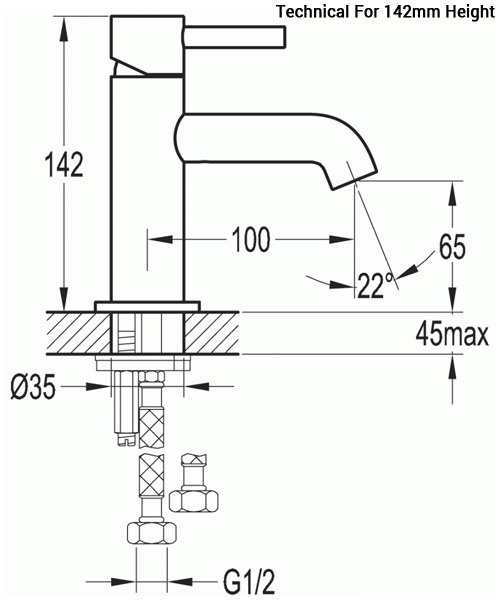 Technical drawing 36052 / LVMBAS