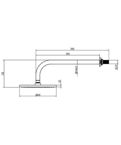 Technical drawing 61009 /