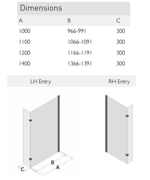 Technical drawing 41518 / SP445-1000LHE