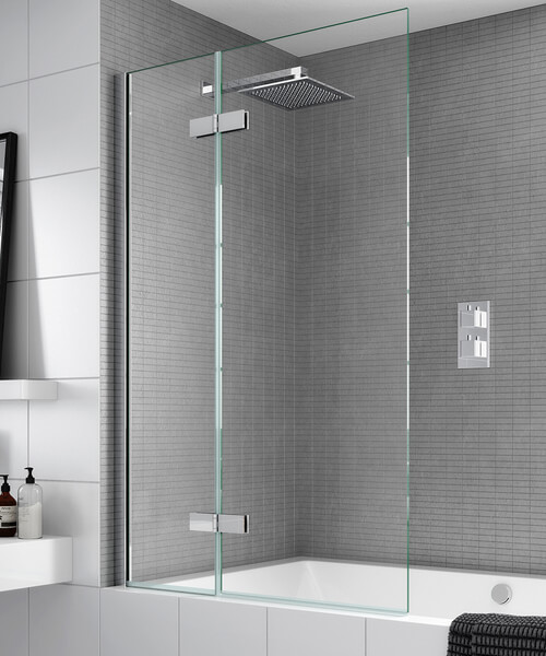 Aqata Spectra SP485 Outward Opening Bath Screen 1000 x 1500mm
