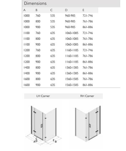 Technical drawing 60076 / SP475-10x76LHC