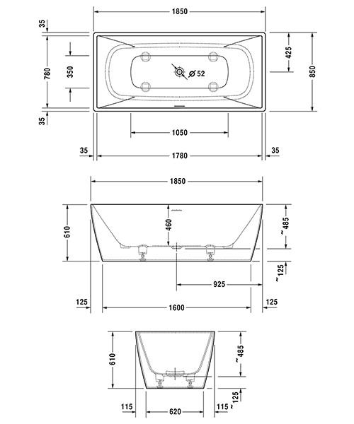 Technical drawing 50890 / 760430000AS0000