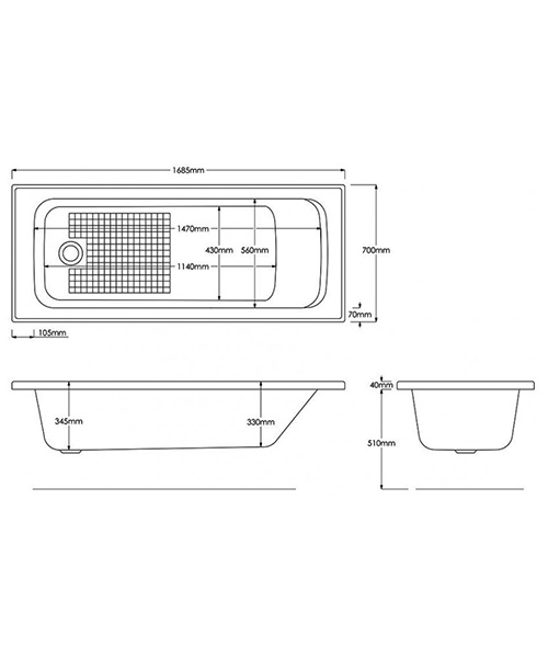 Technical drawing 8742 / B931