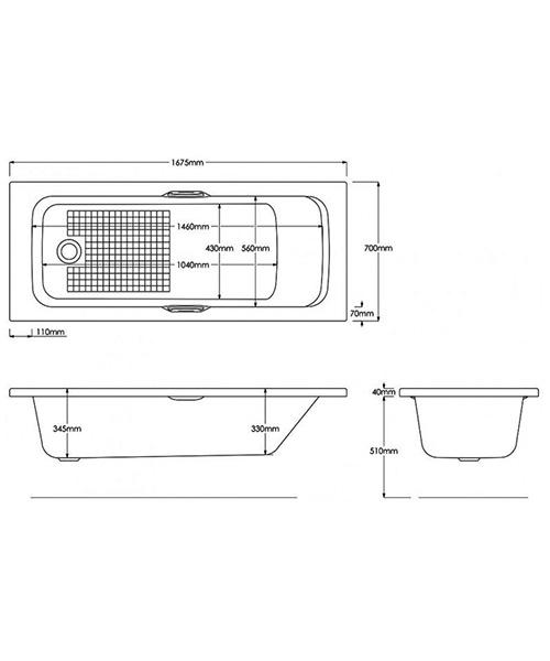 Technical drawing 8721 / B771