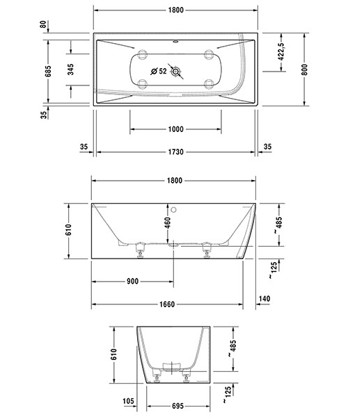 Technical drawing 50887 / 760427000AS0000