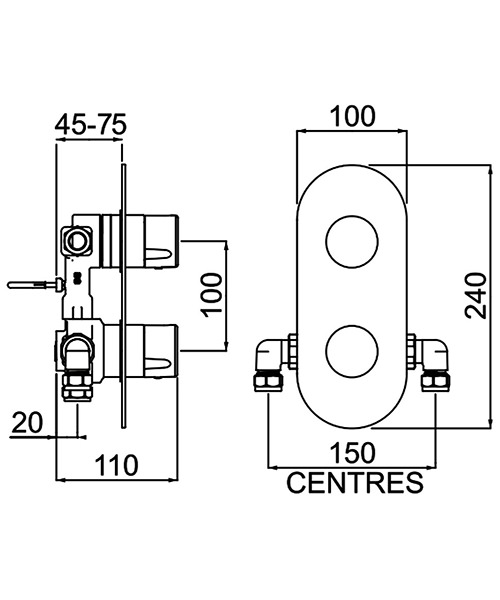 Technical drawing 54791 / EXD SHCDIV C