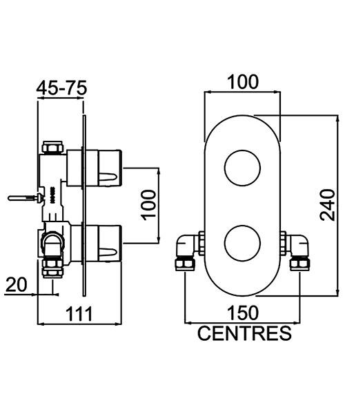 Technical drawing 54792 / EXD SHCVO C