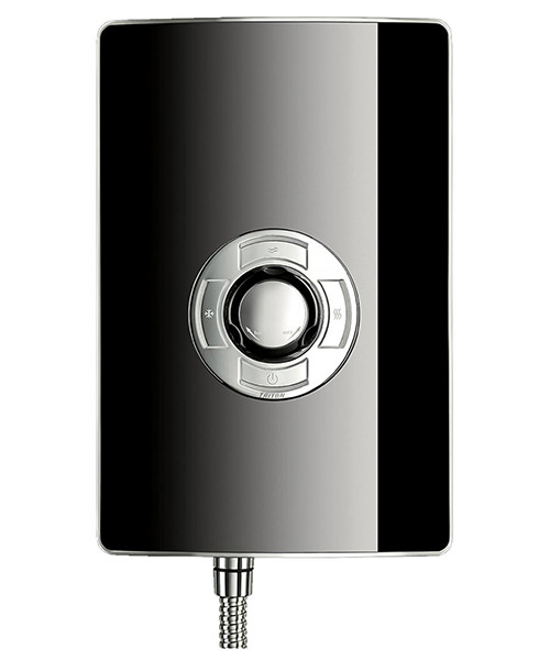 Additional image of Triton Aspirante Black Gloss Electric Shower 8.5 KW