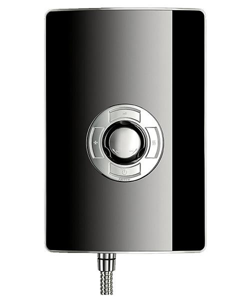 Additional image of Triton Aspirante Black Gloss Electric Shower 9.5 KW