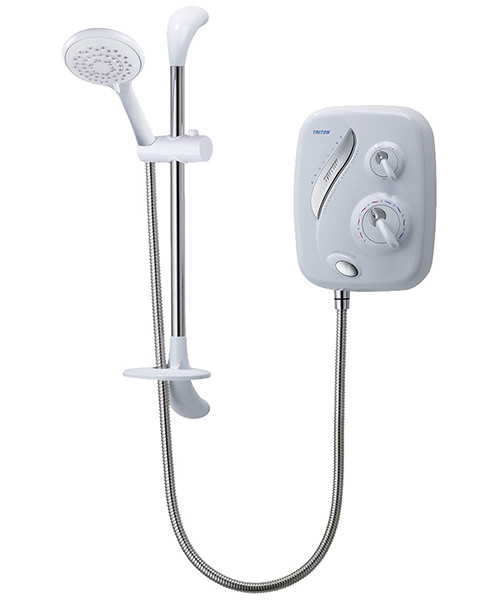 Triton AS2000XT Thermostatic Power Shower White-Chrome