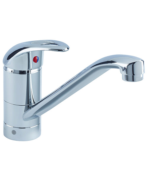 Bristan Java Easyfit Single Flow Kitchen Sink Mixer Tap Chrome