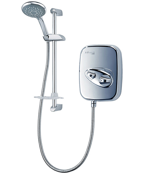 Triton Aspirante Thermostatic Power Shower Chrome