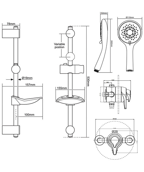 Technical drawing 50702 / UNEDTHCM