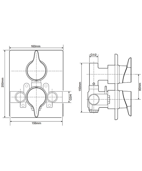 Technical drawing 50695 / UNEDTHDCMX