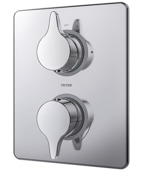 Triton Eden Chrome Dual Control Mixer Shower Valve With Diverter