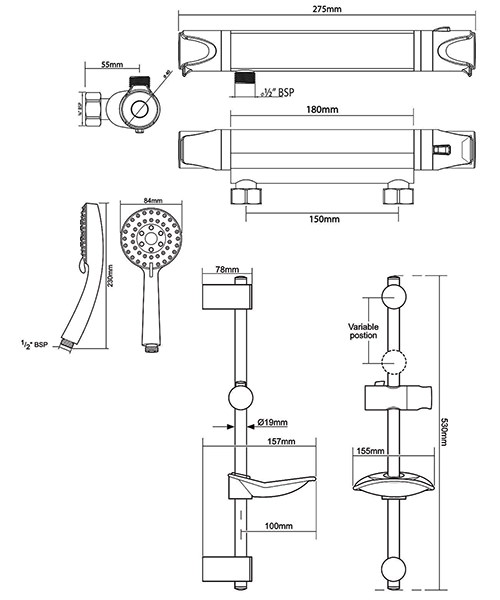 Technical drawing 50705 / UNDETHBMCT
